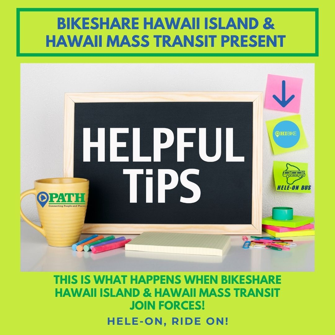 2020: Hawaii County Bikeshare by the Numbers